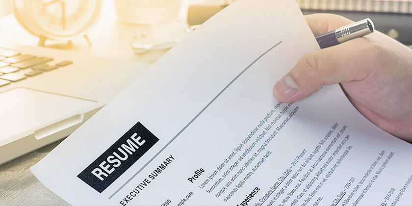How To Prepare A Well Formatted Resume?