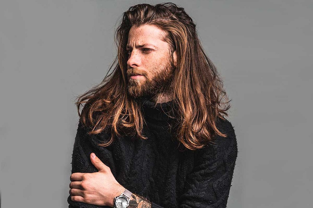 Haircut for Men with Long Hair