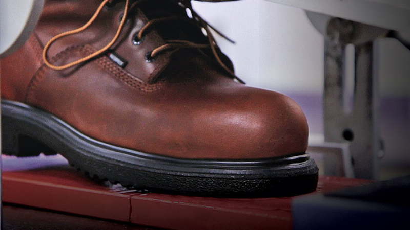 Safety footwear in the work environment is a big protection