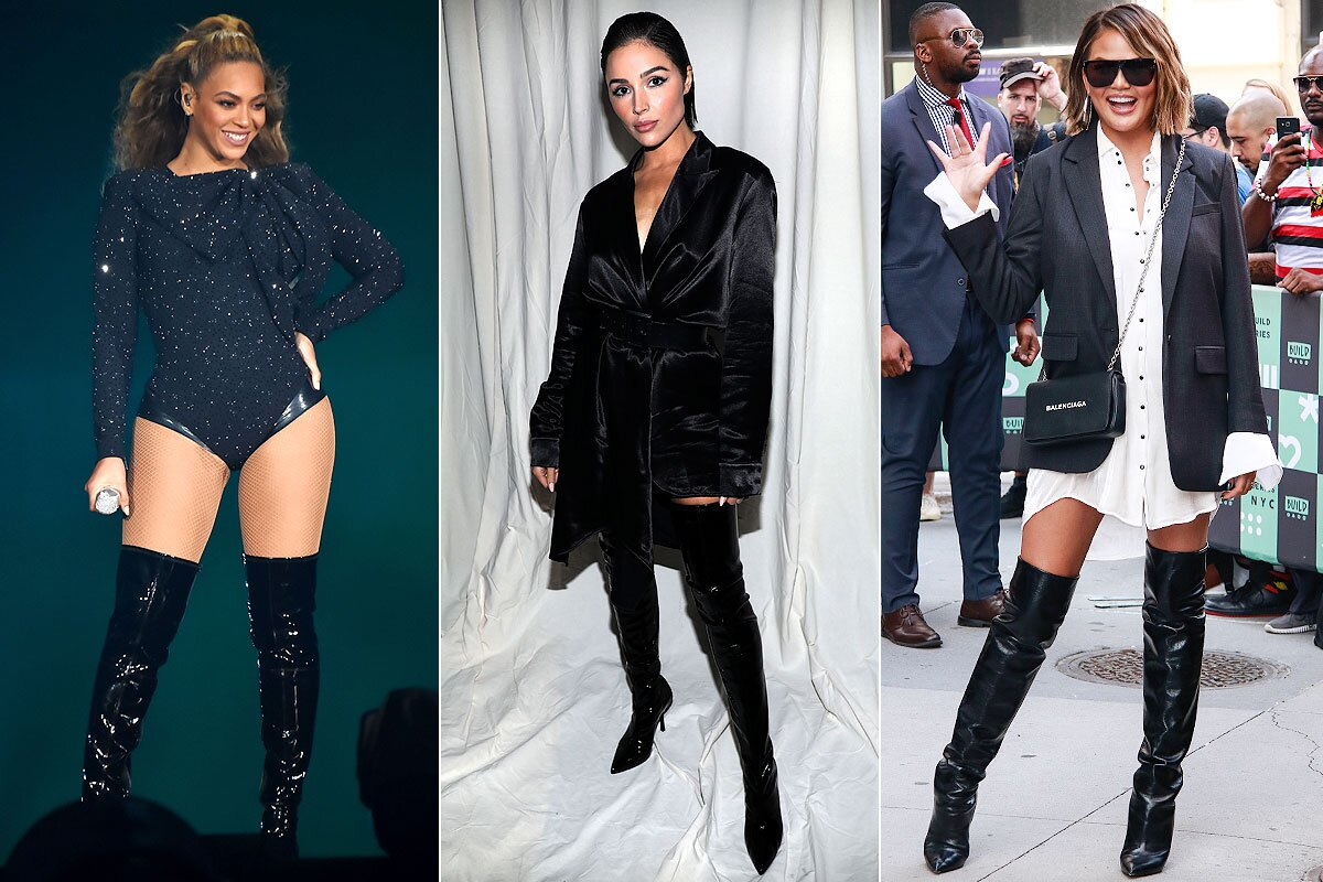 Celebrity Trends – Over The Knee Boots